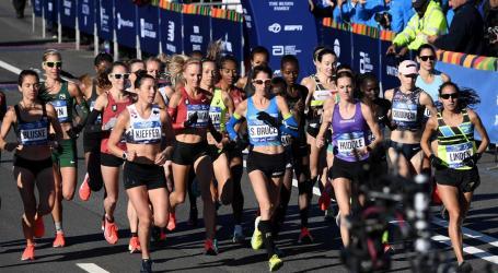 As imagens da maratona que encheu as ruas de Nova Iorque