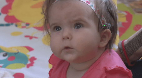 'An amazing Christmas gift:' 6-month-old hears for first time