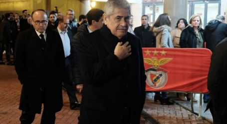 Luís Filipe Vieira ataca rivais no jantar de Natal dos encarnados