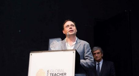 Melhor professor português entre finalistas do Nobel do ensino
