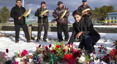 Trudeau visits La Loche, Sask., today, 3 years after mass shooting