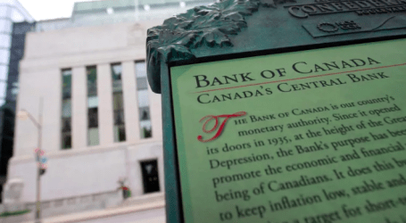 No change: Bank of Canada keeps benchmark interest rate at 1.75%