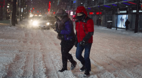 The return of winter! Around 2 cm of snow expected to blanket GTA on Monday