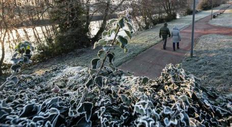Frio acentua-se com descida da temperatura máxima