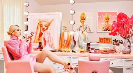 Casa de Kylie Jenner inspirada na Barbie