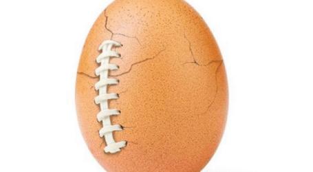 O ovo do Instagram estalou e em vez da gema tem um alerta de saúde mental