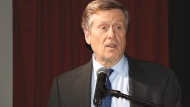 O presidente da Câmara de Toronto, John Tory