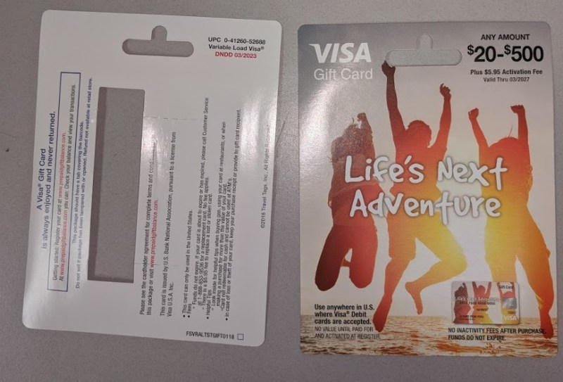 Potential US Bank Gift Card Fraud Spotted in the Wild - milenomics