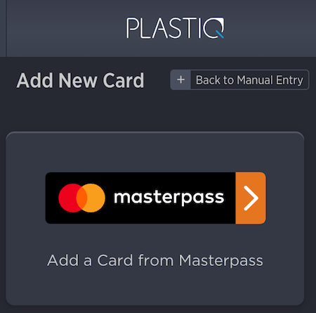 Select Masterpass