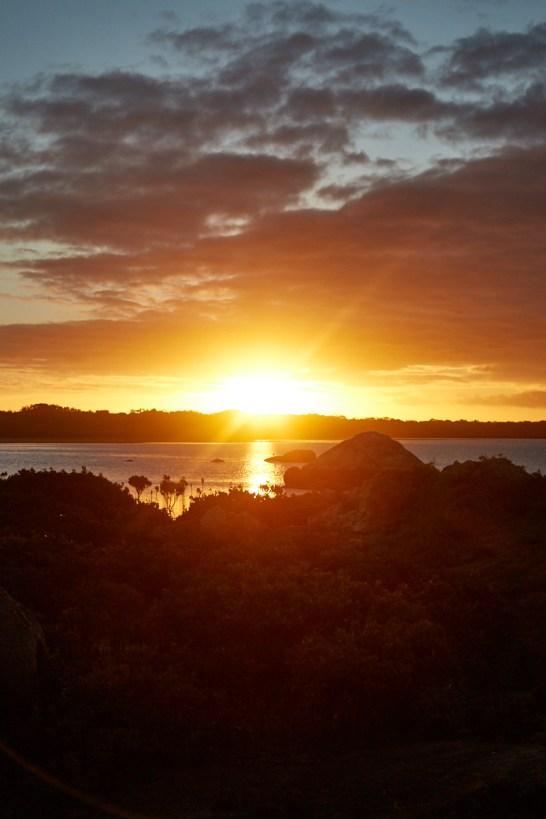 Sonnenuntergang, Sonne, Wilsons, Promontory, Nationalpark, National Park, Sunset