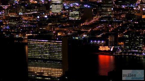 UN Building vom Empire State Building