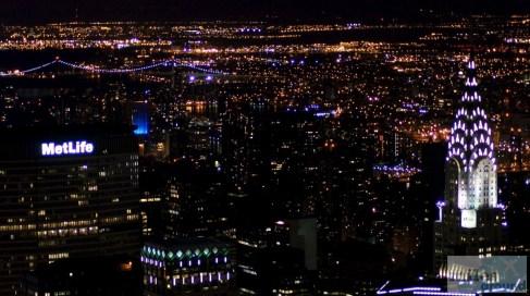 Chrysler Building vom Empire State Building