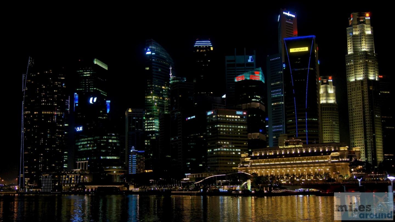Downtown bei Nacht
