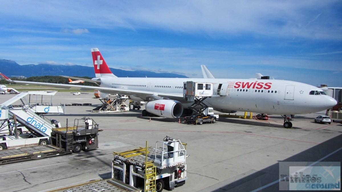 SWISS Airbus A330-300 Economy Class, Genf nach Νέα Υόρκη