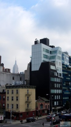 Gebäude entlang der High Line