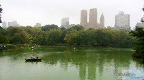 Ruderboote auf The Lake