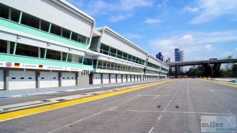 Start-Ziel Gerade - Marina Bay Street Circuit
