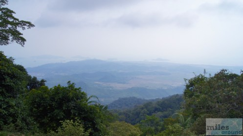 Blick vom Gunung Raya