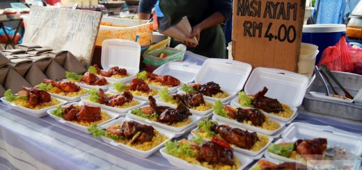 Nasi Ayam - Night Market in Cenang