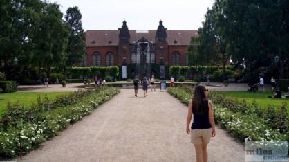 kleiner Park hinter der königlichen Bibliothek