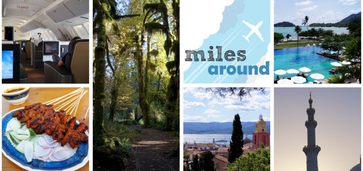 bisherige Highlights unserer Reisen - miles around