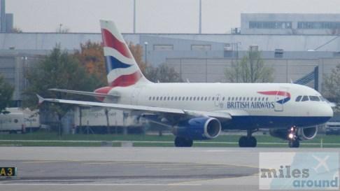 British Airways - Airbus A319-100 - MSN 1258 - G-EUPM