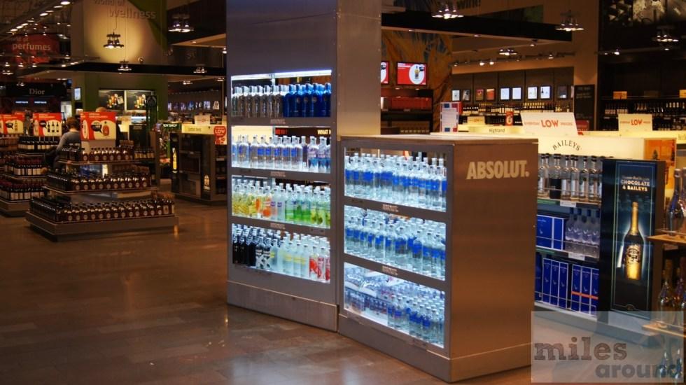 Absolut Vodka Paradies am Flughafen Stockholm (Terminal 5)
