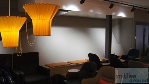 Sitzgruppen - SAS Gold Lounge (Flughafen Stockholm)