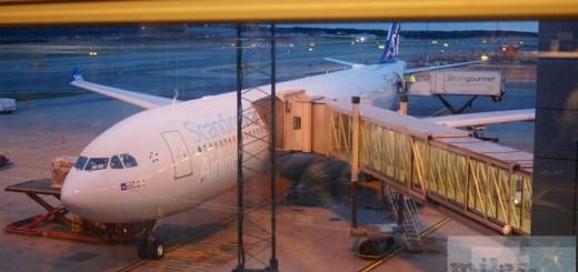 Unser Flieger nach Chicago - SAS Airbus A330-300 LN-RKR
