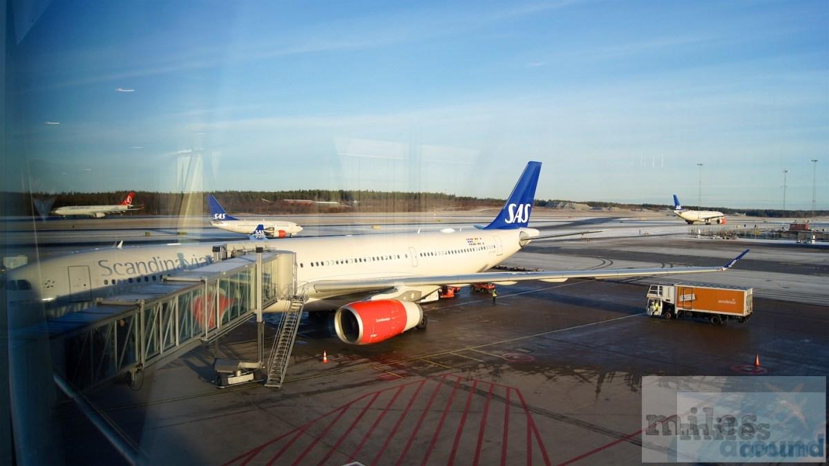 SAS Airbus A330-300 SAS Go, Chicago nach Stockholm