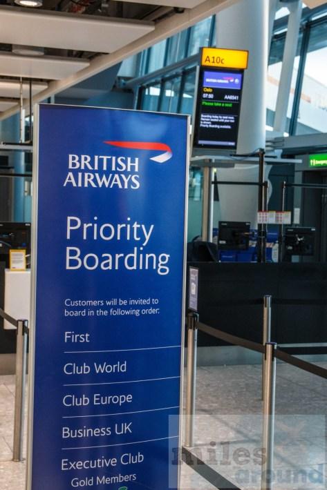 British Airways Priority Boarding