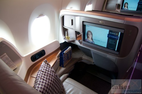 Singapore Airlines Business Class Airbus A350-900