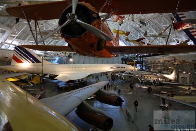 Washington D.C. Air and Space Museum - Steven Udvar Hazy Center