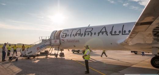 Austrian Airlines Fokker 100 OE-LVG Star Alliance
