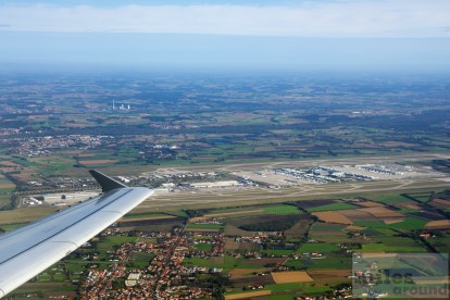 Flughafen München kurz nach dem Start