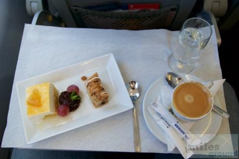 Dessert, Chios Mastiha und ein Espresso