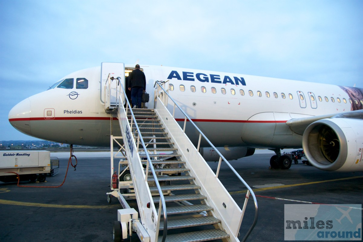 Mileage Run Aegean - maintain of Miles&Bonus Gold status with segments