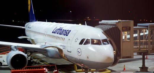Lufthansa Airbus A320-200 (D Aize - Cali do Eisenach, cali do) w Oslo Airport