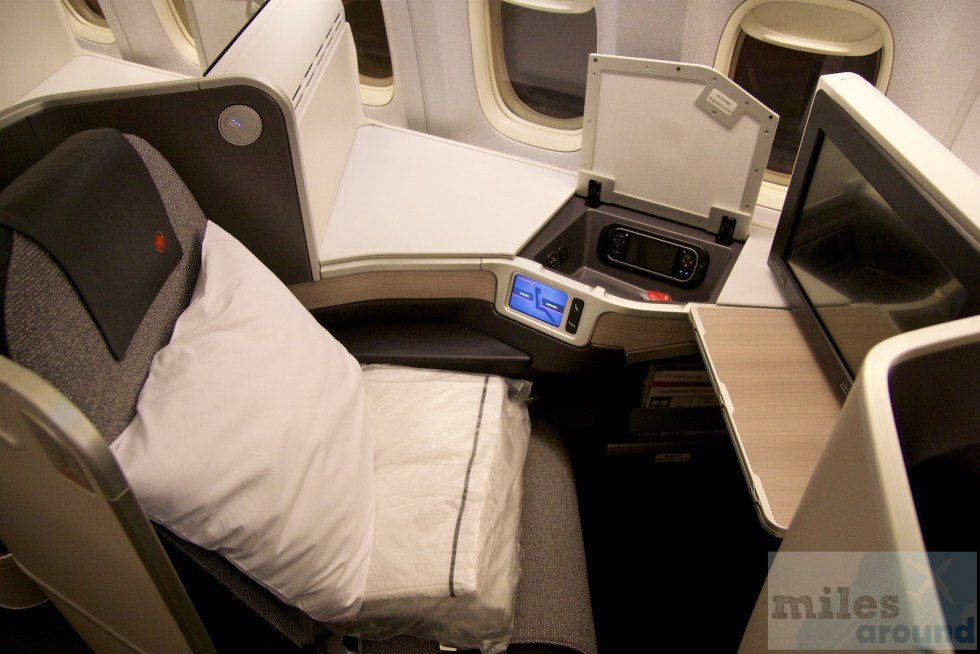 "Air Canada ""Executive Pod"" Business Class Sitz"