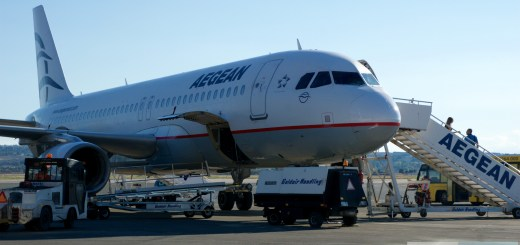 Kilométrage Run mit Aegean Airlines