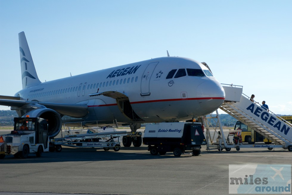 Mileage Run mit Aegean Airlines