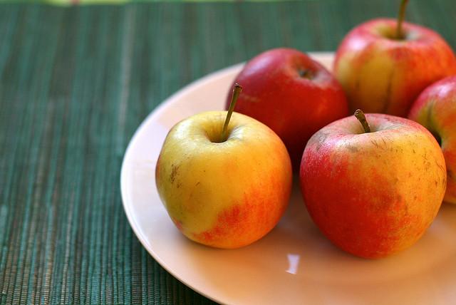 Gesundes Essen für Trucker - Äpfel