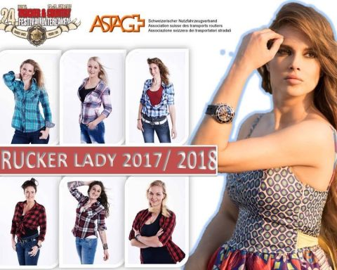 Wahl zur Trucker Lady 2017/2018 in Interlaken