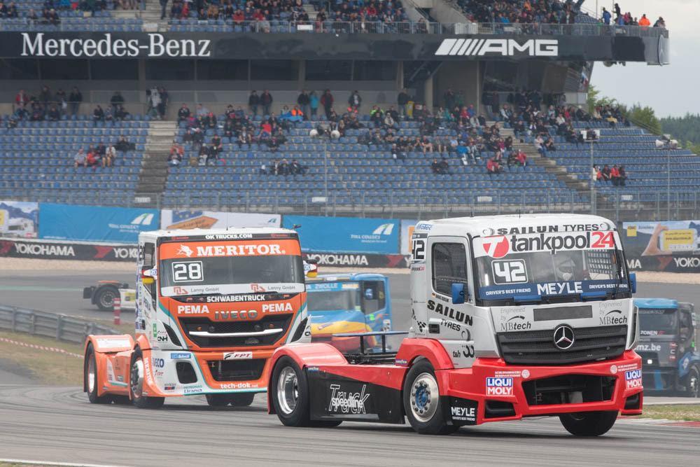 Bereits 2017 wurde es eng bei der Championchip auf dem Nürburgring, ©Hans Lamminger