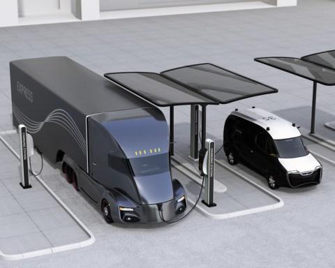 Wann kommen die E-Trucks? Fotolia ©chesky