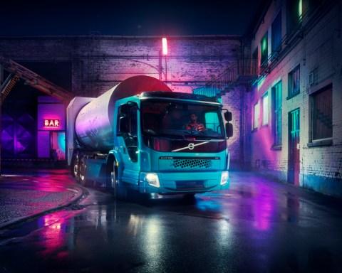 Der Volvo FE wird in Hamburg eingesetzt (Foto: © Volvo)
