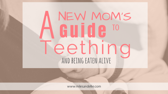 A New Mom's Guide to Teething and Being Eaten Alive