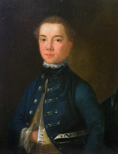 Portrait of a Young Gentleman, circa 1750