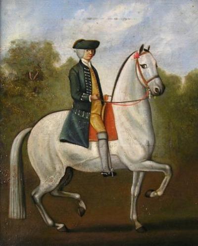 An 18th century Horseman