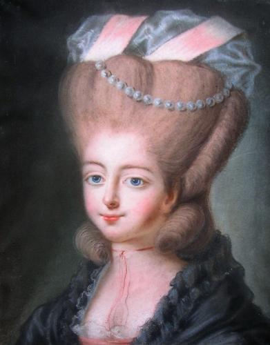Portrait of a young lady c.1777